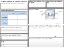 Edexcel P1 Topics 5 & 6 Revision Worksheets