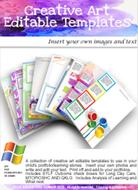 Creative Art Editable Pack