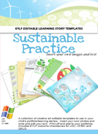 Sustainable Practice Editable Pack