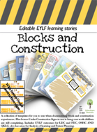 Blocks and Construction Editable Pack