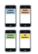 Classroom Monitors/Jobs Display - iHelp