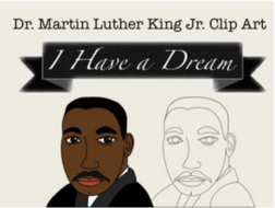 dr martin luther king jr clip art by sillyomusic teaching