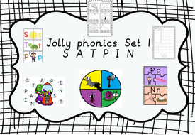 Jolly phonics literacy centers by 1991maria - Teaching Resources - Tes