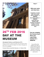Cross curricula History- Museum visit