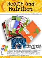 Health and Nutrition Editable Pack
