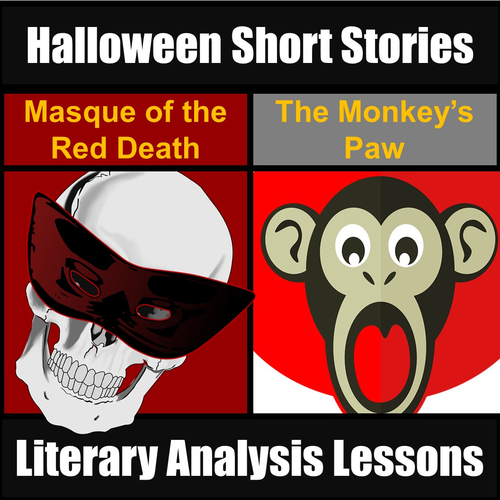 halloween short stories unit monkey 39 s paw masque of the red death by topwritingacademy. Black Bedroom Furniture Sets. Home Design Ideas