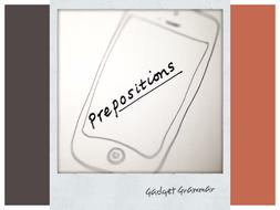 Prepositions -Gadget Grammar