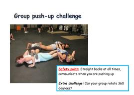 Group Push Up Challenge