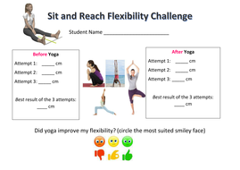 Yoga and Flexibility: Sit and Reach Challenge