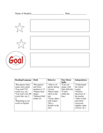 parent teacher conference template by freedajive teaching