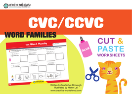CVC 2 - Extra Worksheets by macdaddy | Teaching Resources