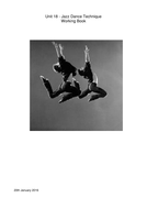 Working book - Jazz Dance