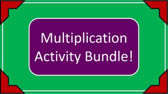 Written Multiplication Activity Bundle!