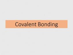 Covalent bonding powerpoint