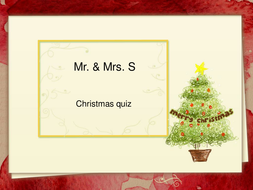 Christmas quiz with answers