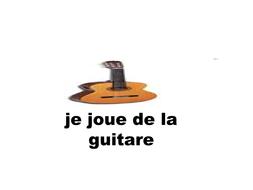 verbe jouer +instruments de musique