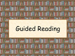Guided Reading Tip