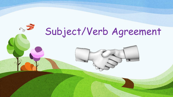 PowerPoint on Subject-Verb-Agreement