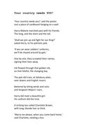 Remembrance day modern poetry