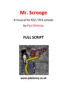 Mr Scrooge FULL playscript by Paul Delaney