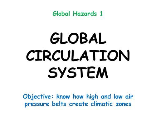 "Hazards 1: ""GLOBAL CIRCULATION SYSTEM"""