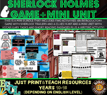 SHERLOCK HOLMES: A GAME AND A MINI UNIT OF WORK (ESL)