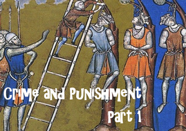 Crime and Punishment : The Norman Conquest