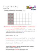 Floor Plan Fractions