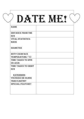 speed dating rating intet punkt i dating længere