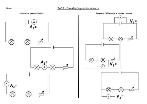 GCSE AQA Physics - P4.5 - Series Circuits