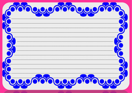 Lined paper and Pageborders