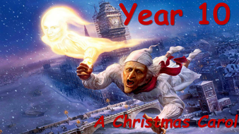 A Christmas Carol - The Ghost of Christmas Yet to Come   Teaching Resources