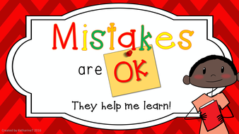 Making Mistakes Helps Us Grow (Inspired by ONE FAB TEACHER) - YouTube