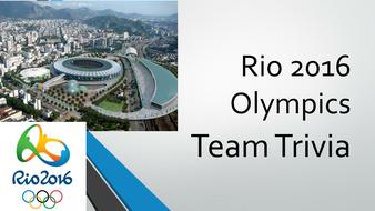 Rio 2016 Olympics Quiz