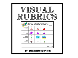 Visual Rubrics for Special Education by Theautismhelper