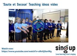 'Saute et Secoue' Teaching Ideas