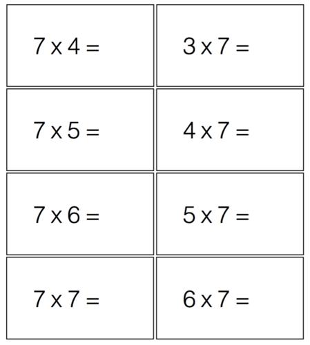 Number Names Worksheets » Single Digit Multiplication - Free ...