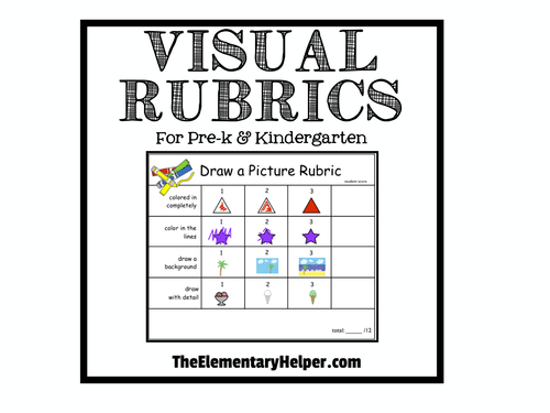 Visual Rubrics for Preschool and Kindergarten by