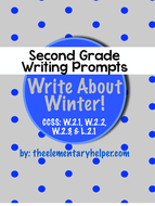 Winter Writing Prompts: Second Grade