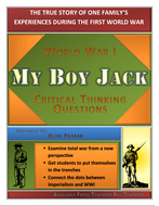 My Boy Jack  Wwi Critical Thinking Questions  Can Double As Essay  My Boy Jack  Wwi Critical Thinking Questions  Can Double As Essay Topics General English Essays also Cheap College Report  Business Plan Writers Austin Tx