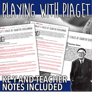 Playing with Piaget Activity - Piaget's Four Stages of Cognitive ...