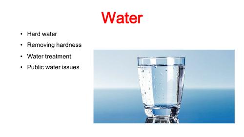 Water GCSE Chemistry