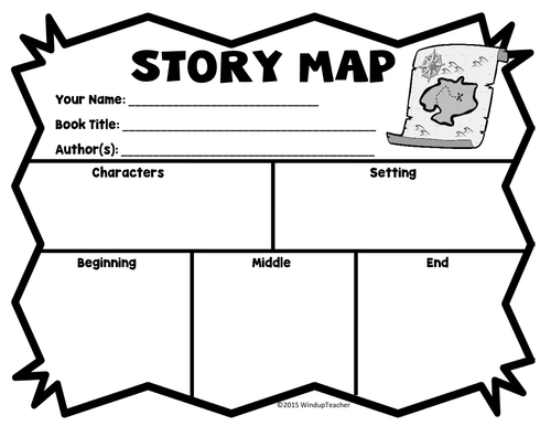 Story Maps By Windupteacher Teaching Resources Tes