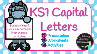 Ks1 using capital letters based on year 1 new curriculum ks1 using capital letters based on year 1 new curriculum presentation activities and stopboris Images