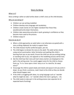 Story scribing overview