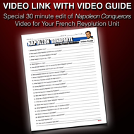 French Revolution Napoleon Video Questions With Video Link Teaching Resources