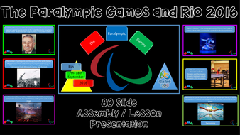 The Paralympic Games and Rio 2016