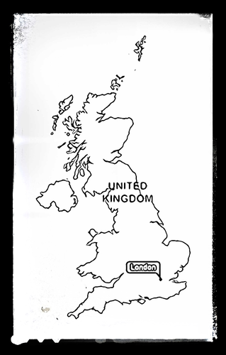 Map of Great Britain - Colouring Sheet