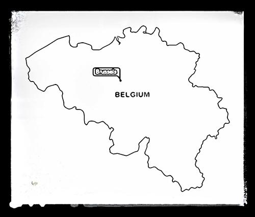 Map of Belgium - Colouring Sheet