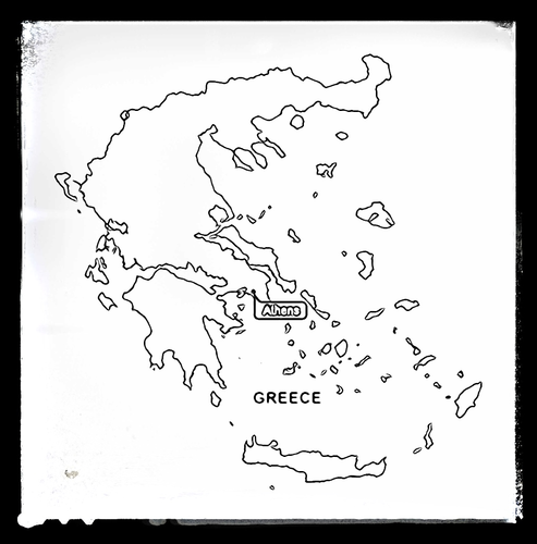 Map of Greece - Colouring Sheet